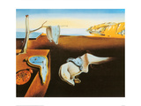 Muiston pysyvyys (The Persistence of Memory), noin 1931 Posters tekijänä Salvador Dalí