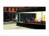 Nighthawks Prints