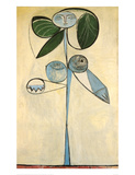 Woman/flower 1946 Giclee Print by Pablo Picasso