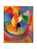 Formes Circulaires-Soleil #3 Gicle-tryk af Robert Delaunay