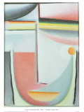 Symphony In Rose Posters by Alexej Von Jawlensky