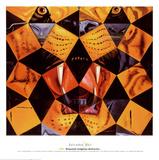 Femti raske tigere Posters av Salvador Dalí