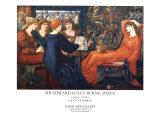 Laus Veneris Plakat autor Edward Burne-Jones
