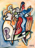 Jazz Latino Print by Alfred Gockel