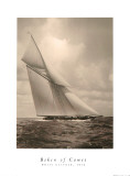 White Heather Print by  Beken of Cowes