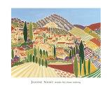 Vieille ville de Vaison-la-Romaine Posters par Joanne Short