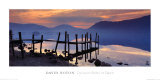 Derwent Water at Dawn, Cumbria Prints by David Noton