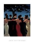 Valsen Poster af Jack Vettriano