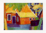 Old Farm House Prints by Alie Kruse-Kolk