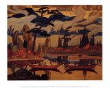 Mist Fantasy Poster by J. E. H. MacDonald