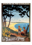 Baule Les Pins Posters by Cesbron 