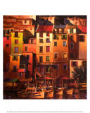 Goldenes Mittelmeer Kunstdrucke von Michael O'Toole