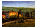 Tuscan Morning Posters by M. Downs