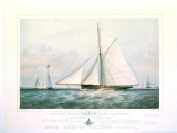 Arrow Yacht Print