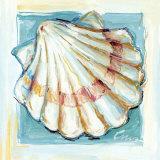 Shell  White Serie I Kunstdruck von  Cruz