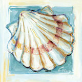 Shell  White Serie I Print by  Cruz