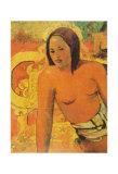 Jeune Femme Print by Paul Gauguin