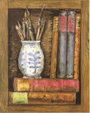 Librairies VIII Poster von A. Vega