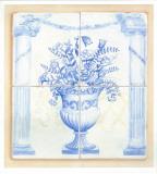 Jarrones Azules I Prints by V. Alber