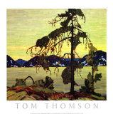 Jack Pine Art by Tom Thomson