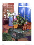 Terracotta Pots Prints by Mayte Parsons