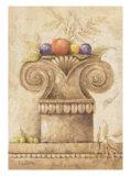 Capiteles con Frutas III Print by Javier Fuentes