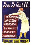 Chocolat Jules Damoy Posters par  Vavasseur