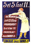 Chocolat Jules Damoy Prints by Vavasseur 