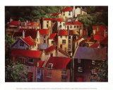 Über den Dächern II Poster von Michael O'Toole