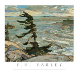 Stormy Weather, Georgian Bay Poster by Frederick Varley