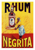 Rhum Negrita Plakater
