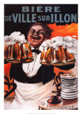 Biere De Ville Sur Illon Print by Francisco Tamagno
