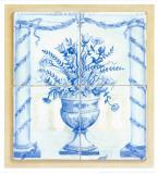 Jarrones Azules II Poster by V. Alber