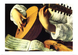 Lute Player, c. 1600 (detail) Prints by  Caravaggio