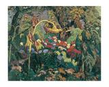 Tangled Garden Art by J. E. H. MacDonald