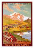 Ruta de los Alpes Pósters por René Péan