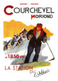 Courchevel Moriond Psters