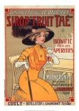 Sirop «Fruit Thé» Affiche