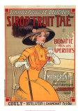 Sirop Fruit Print