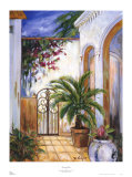 Havana Patio Prints by Martha Rodgers