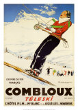 Combloux Teleski Prints by Ordner 