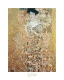 Gustav Klimt - Portrait of Adele Bloch-Bauer - Poster