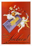 Chocolat Au Lait Fuchard Prints by Leonetto Cappiello