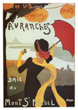 Avranches Poster by Albert Bergevin