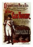 Affiche Napoléon 1er, Clos Vougeot Affiches par Pierre Chapuis