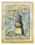 Light House I Print by A. Vega