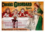 Chocolats Grondard Affiches