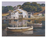 Puerto De Mahon Collectable Print by Poch Romeu