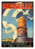 Marseille Kunstdrucke von  Beglia