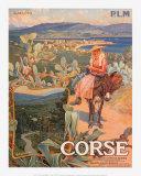 Corse Kunstdruck